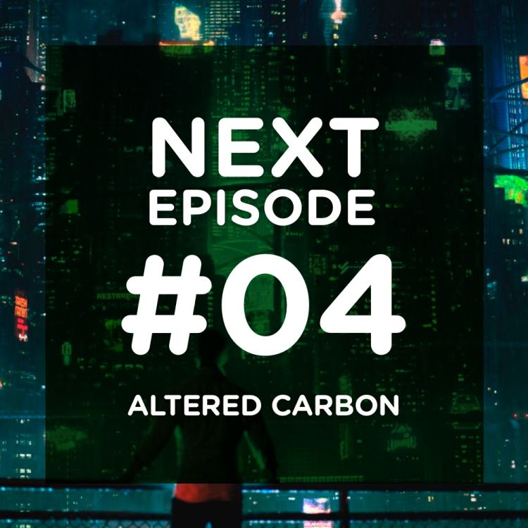 cover art for Altered Carbon, du sampling grossier