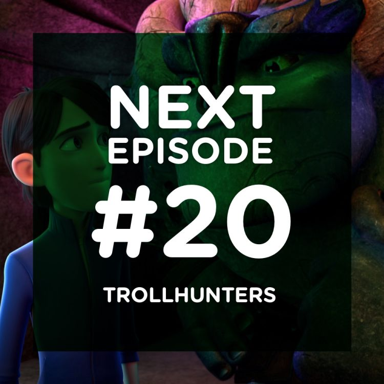 cover art for Trollhunters, le chef d'oeuvre Del Toro