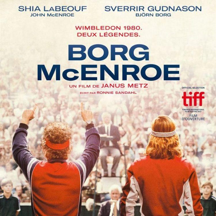 cover art for Borg/McEnroe  - Anne Laure Soyez