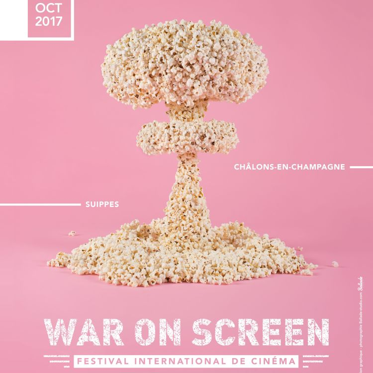 cover art for WAR ON SCREEN FESTIVAL - Philippe Bachman