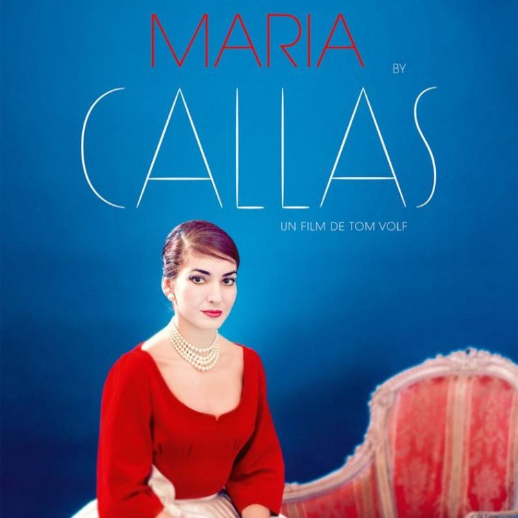 cover art for MARIA BY CALLAS - Julien Dugois