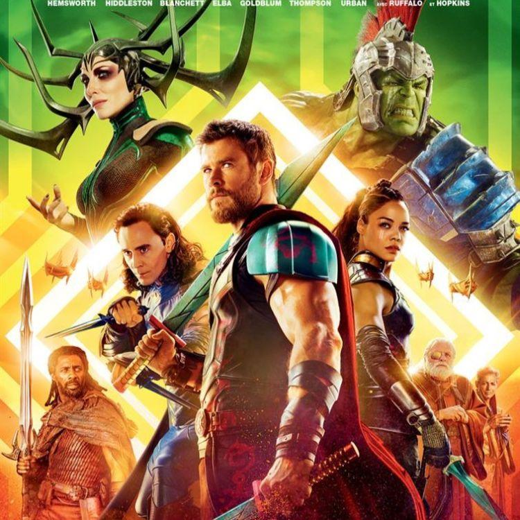 cover art for Thor : Ragnarok - Sébastien Moity