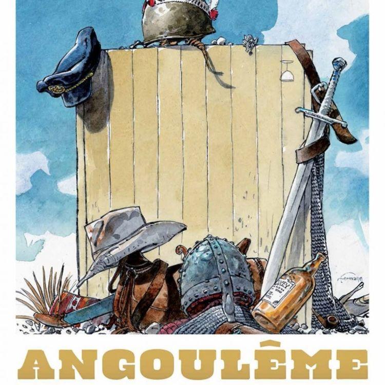 cover art for Univers parallèles - Festival de la BD d'Angoulême 2017.