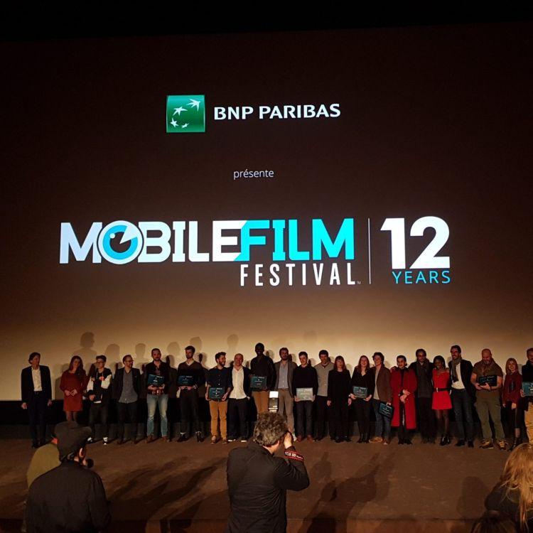 cover art for Au cœur du Mobile Film Festival 2017.