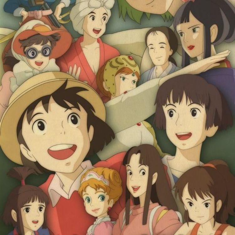 cover art for Les femmes chez Miyazaki