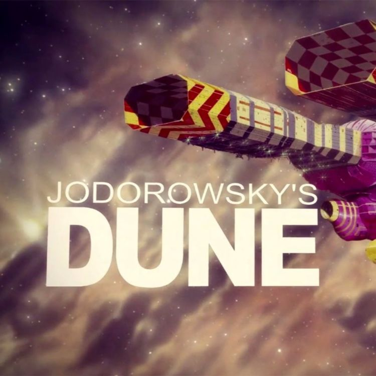 cover art for Jodorowsky's Dune.
