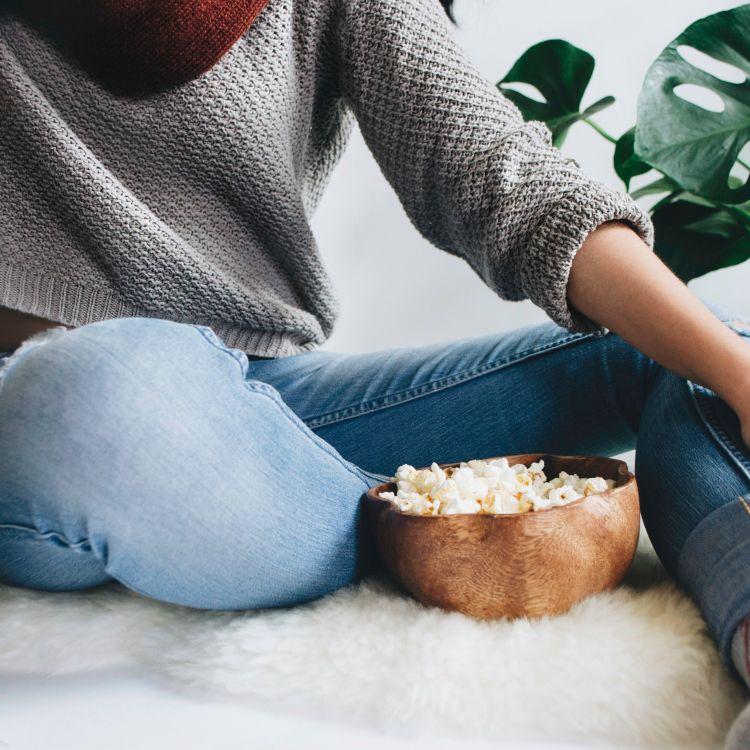 cover art for Les origines du Pop-Corn au cinéma.