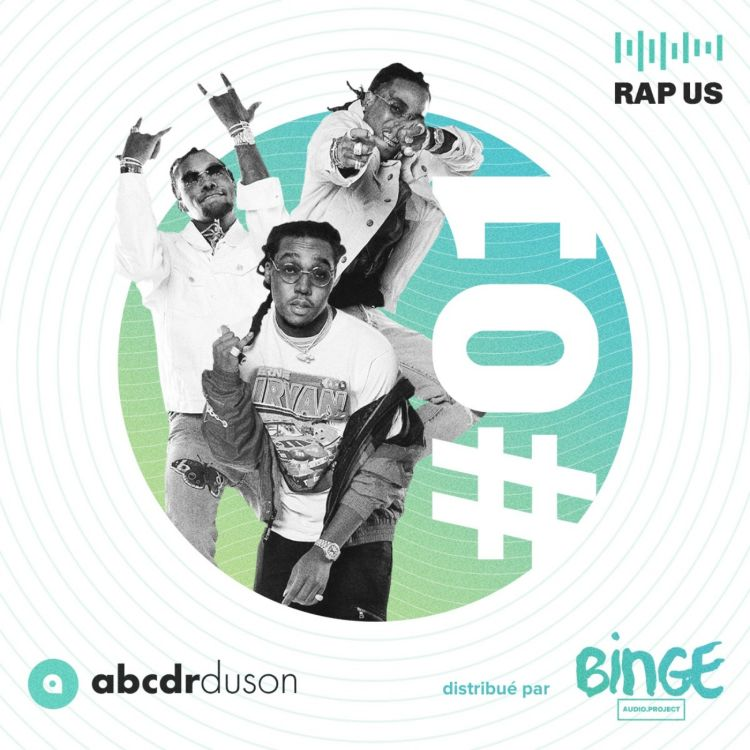 cover art for Le rap américain en 2017