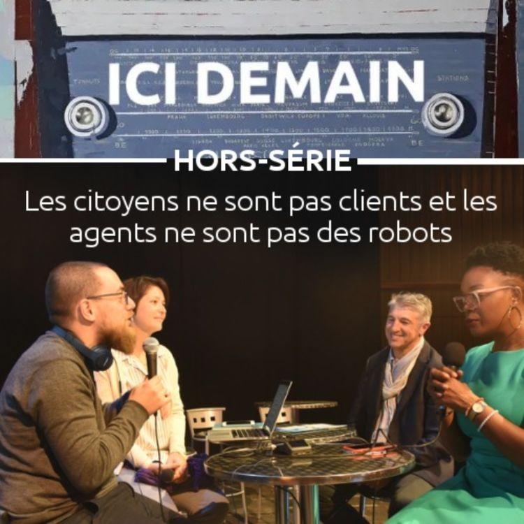 cover art for Les citoyens ne sont pas clients et les agents ne sont pas des robots
