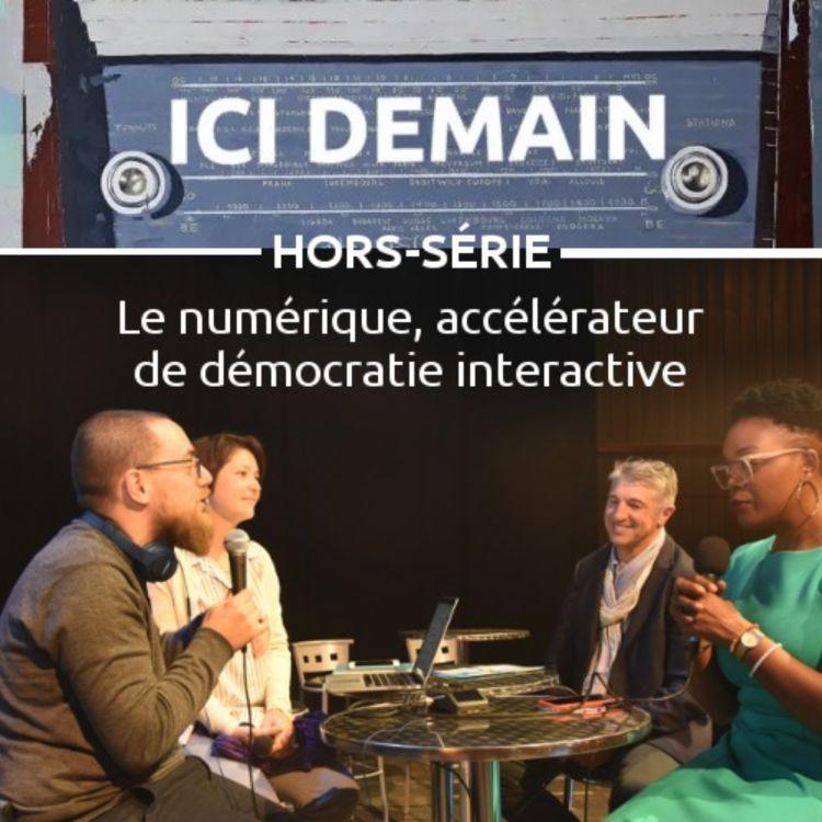 cover art for Le numérique, accélérateur de démocratie interactive