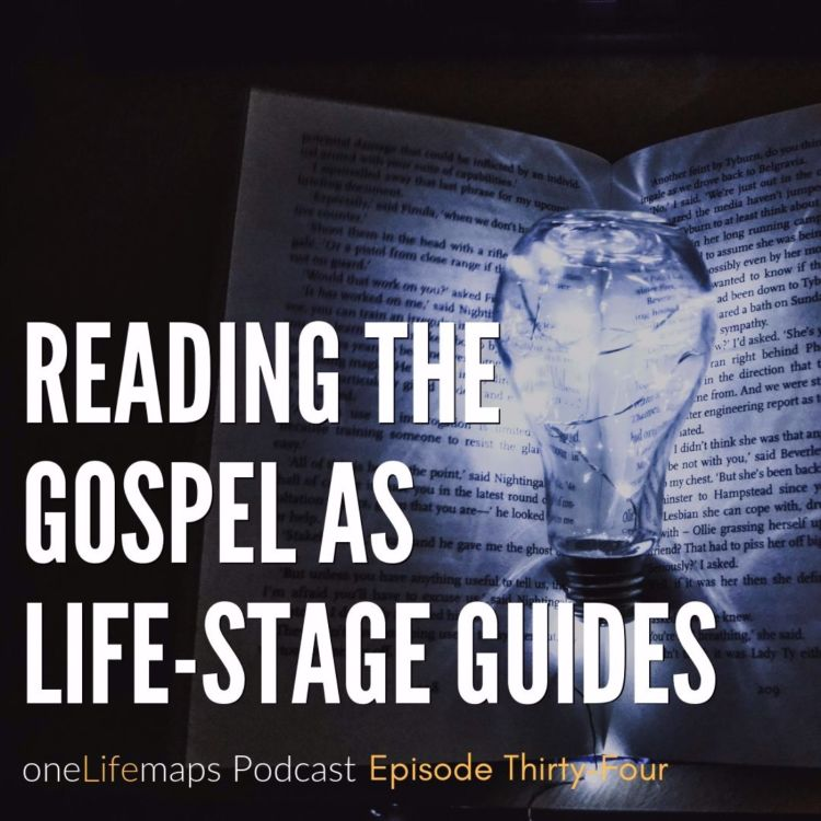 cover art for Reading the Gospels as Life-Stage Guides