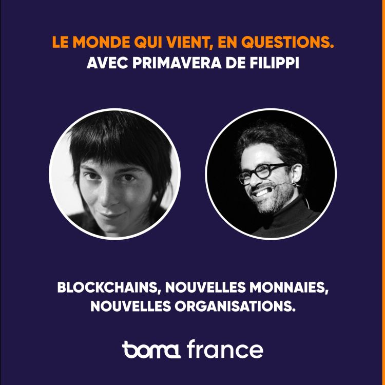 cover art for LMVQ #3 — Blockchains, nouvelle monnaies, nouvelles organisations, avec Primavera de Filippi