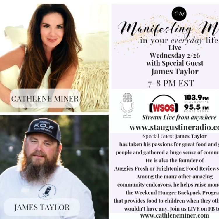cover art for Radio LIVE with James Taylor and Cathlene