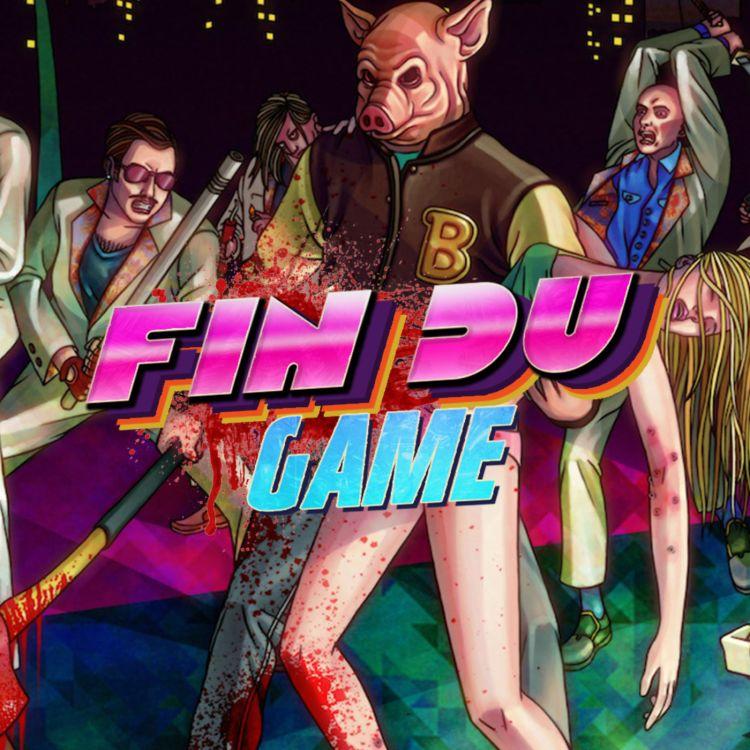 cover art for Episode 29 - Hotline Miami 1