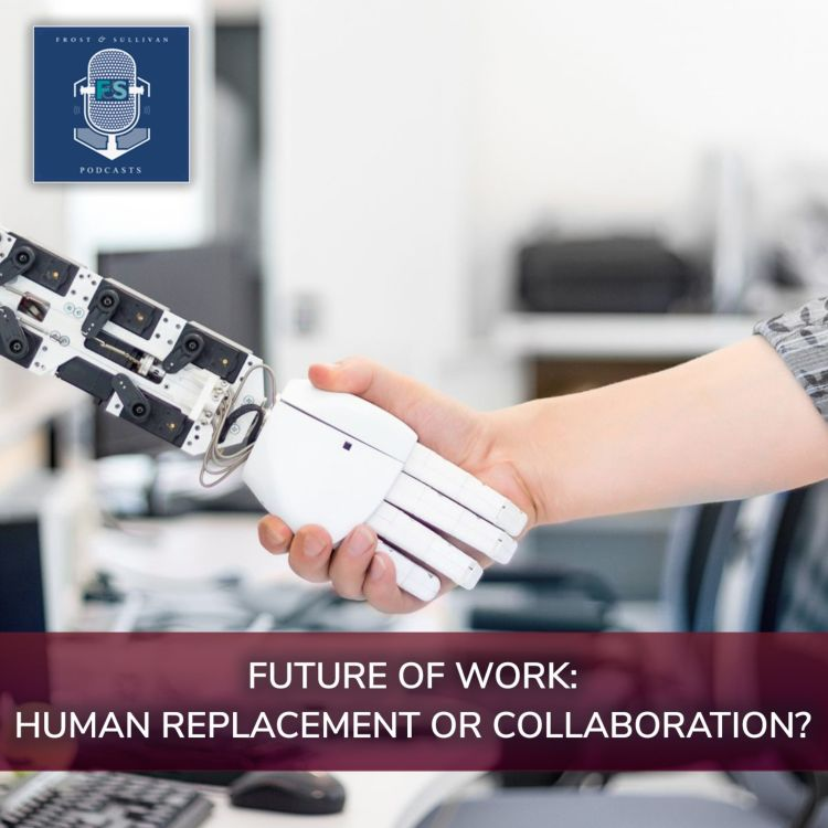 cover art for Future of Work-Human Replacement or Collaboration