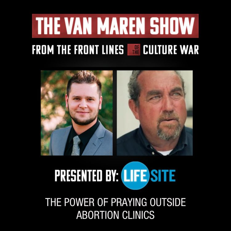 cover art for Episode 16: The power of praying outside abortion clinics