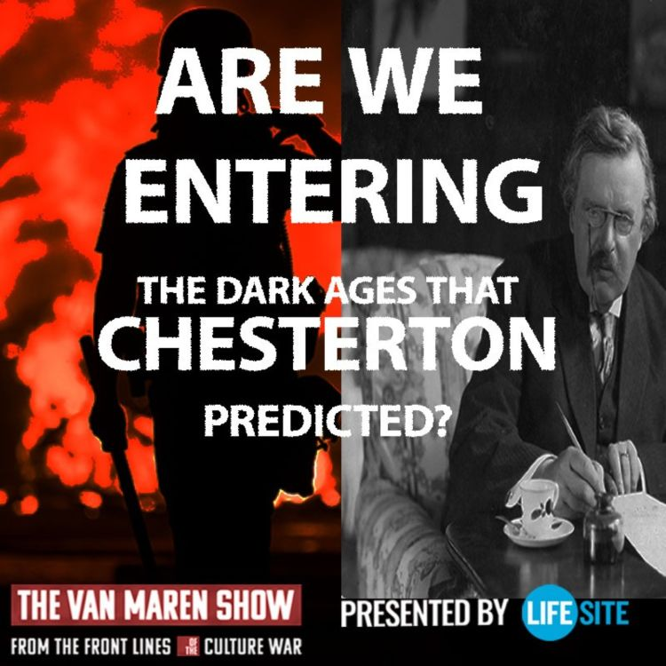 cover art for Are we entering the Dark Ages that G.K. Chesterton predicted?