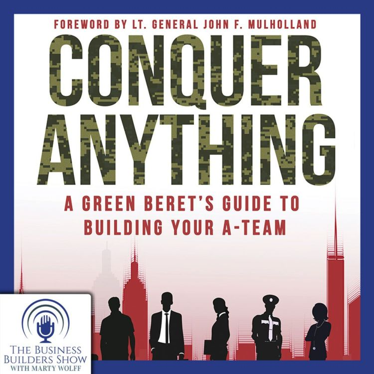 "cover art for ""Conquer Anything"" by Sgt. 1st Class Gregory Stube (Ret.)"