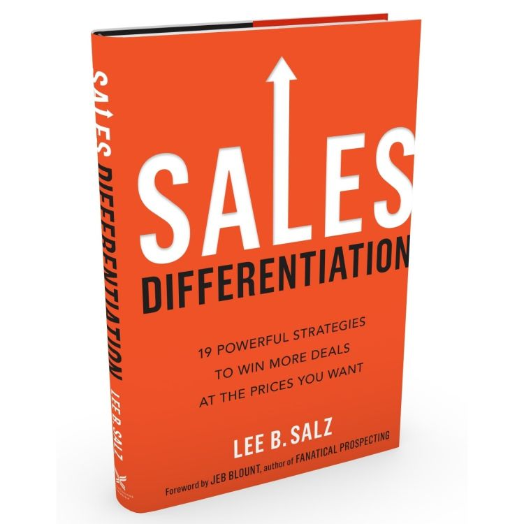 cover art for Sales Differentiation with Lee B. Salz