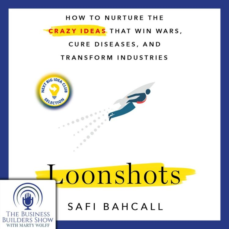 cover art for Loonshots: How to Nurture Crazy Ideas with Safi Bahcall