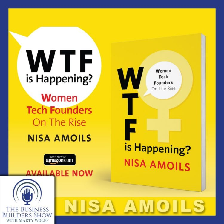 cover art for WTF! Investor Nisa Amoils On Women Tech Founders in Frontier Technology