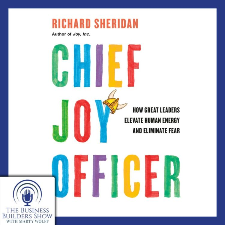 cover art for CHIEF JOY OFFICER with Richard Sheridan