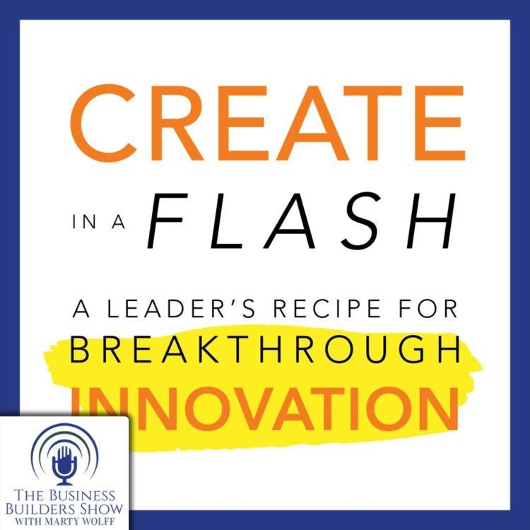 cover art for Breakthrough Innovation with Roger L. Firestien, Ph.D.