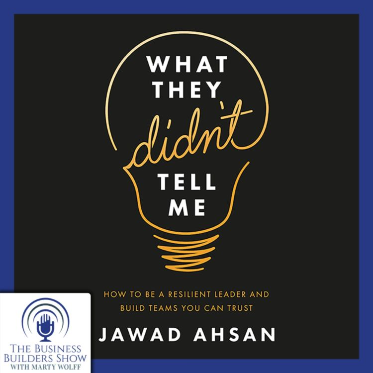 """cover art for Jawad Ahsan Shares """"What They Didn't Tell Me"""""""