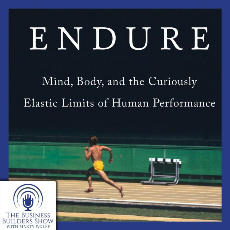 """cover art for """"ENDURE"""" with Alex Hutchinson"""