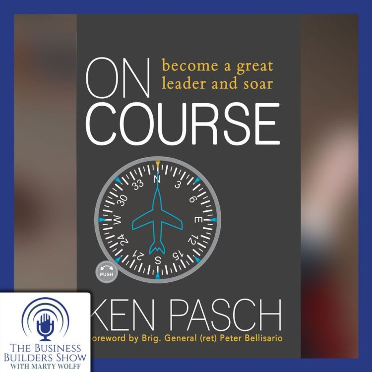 """cover art for """"On Course"""" with Ken Pasch"""