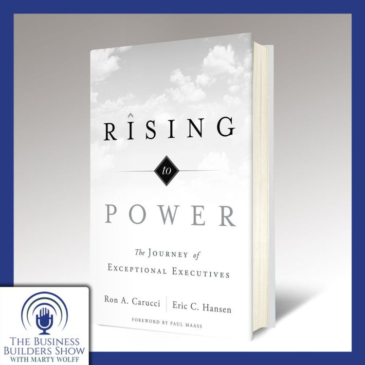 """cover art for """"Rising to Power"""" with Ron Carucci"""