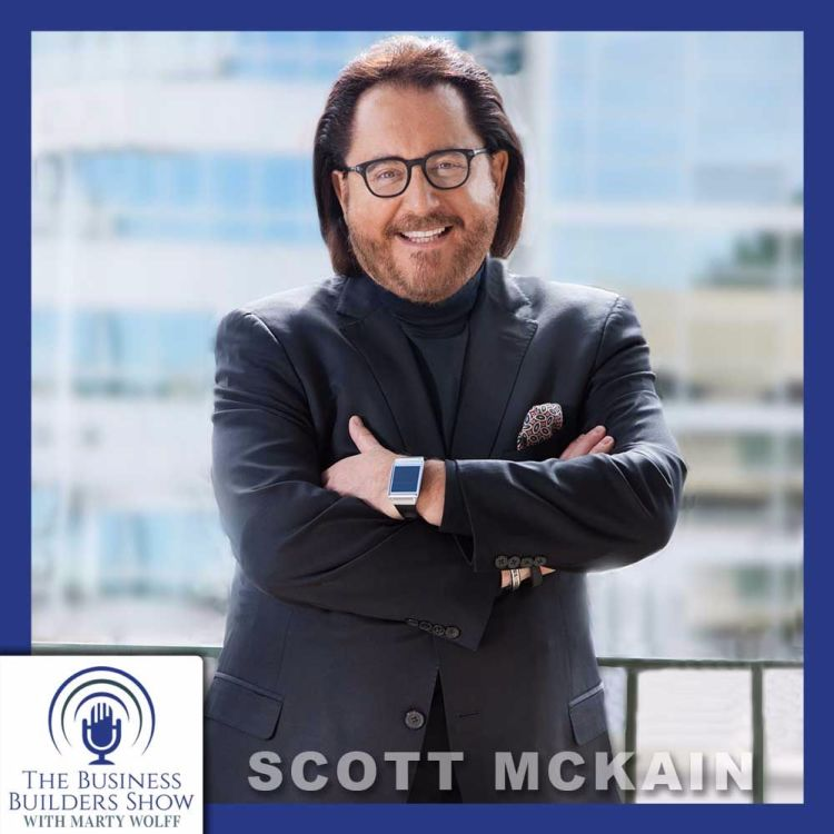 """cover art for """"Creating Distinction"""" with Scott McKain"""