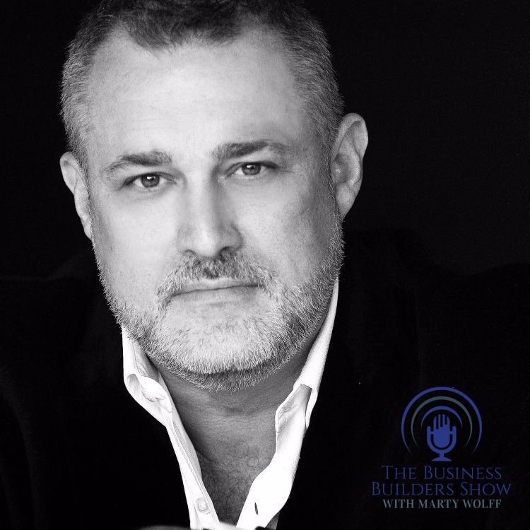 cover art for THINK BIG ACT BIGGER with Jeffrey Hayzlett