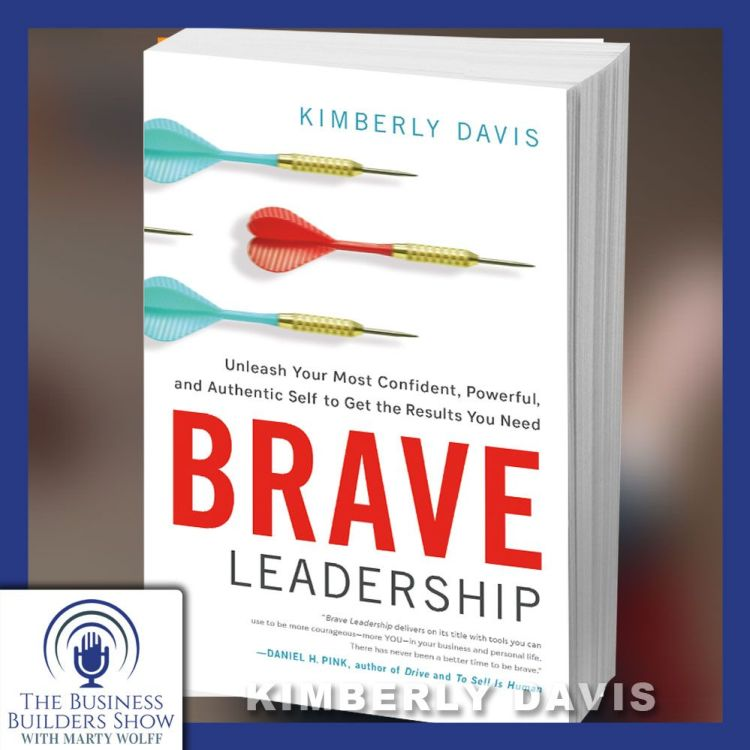 cover art for BRAVE Leadership with Kimberly Davis