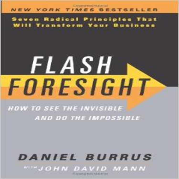 """cover art for The Future Is Here: """"Flash Foresight"""", The Grid and Jet.com"""