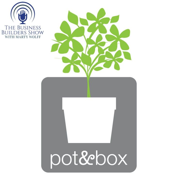cover art for Lisa Waud of Pot & Box will Inspire You