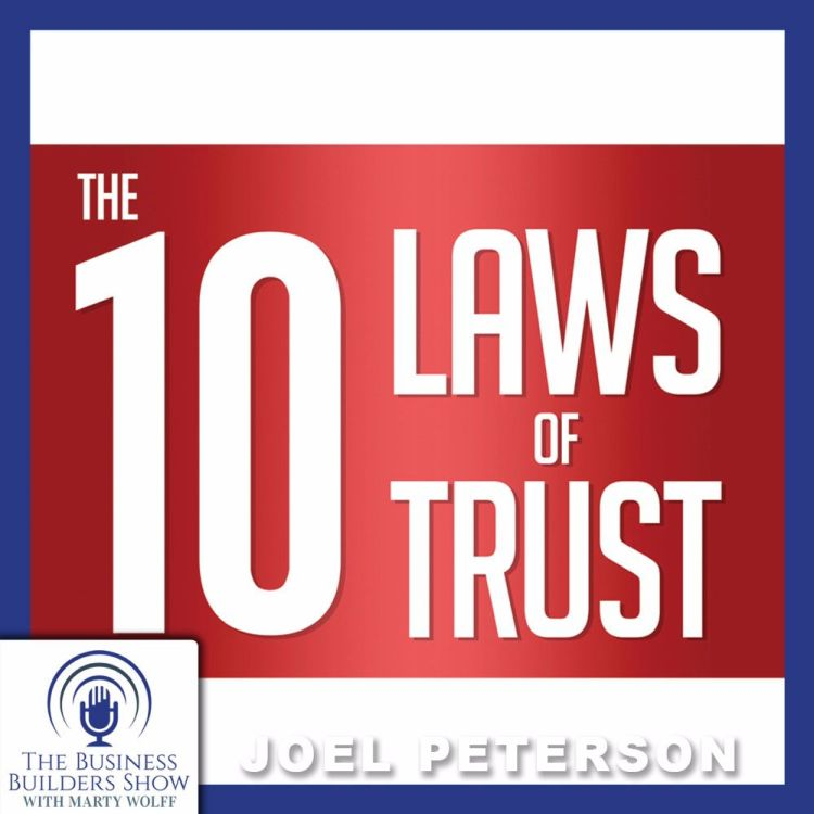 """cover art for """"The 10 Laws of Trust"""" From the Chairman of JetBlue"""