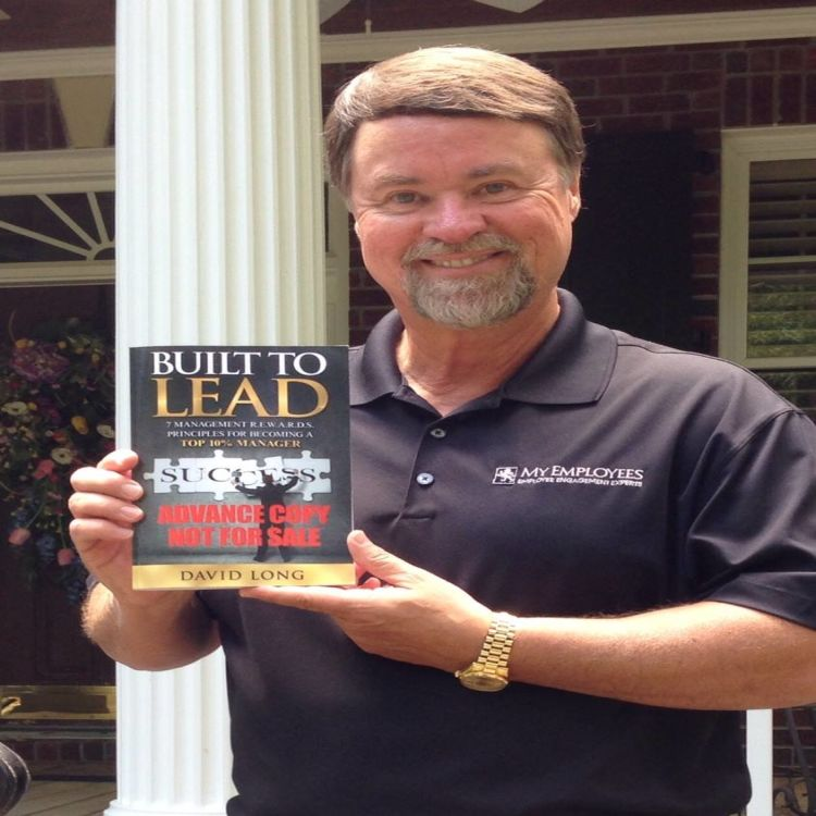 cover art for Built to Lead – David Long
