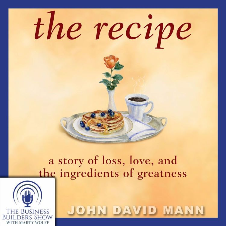 cover art for The Recipe with John David Mann