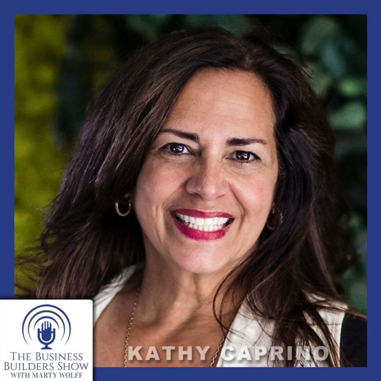 """cover art for """"Braving Up To Build A Better Life"""" with Kathy Caprino"""