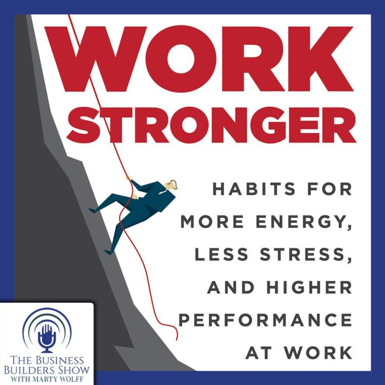 cover art for More Energy, Less Stress, Higher Performance at Work
