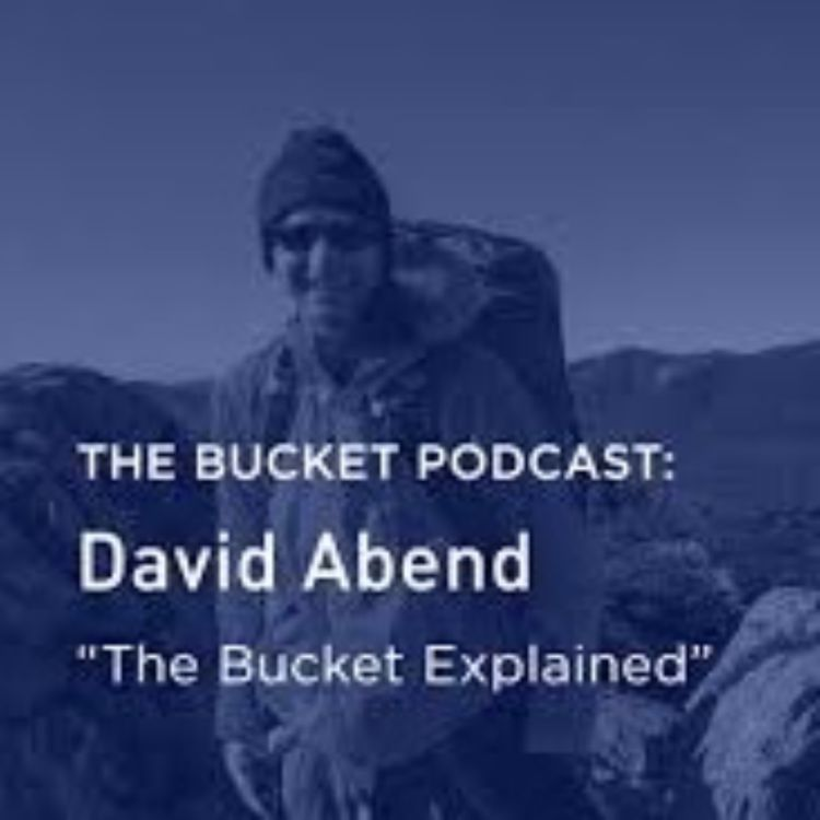 cover art for David Abend, The Bucket