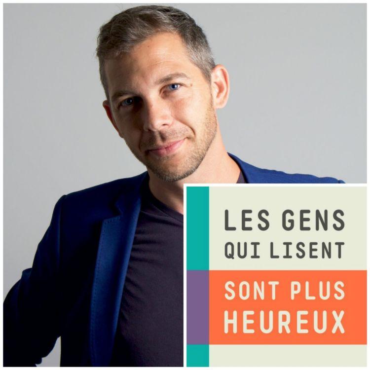 """cover art for #30 - Romain Puertolas : """"La vie réelle ne me satisfait pas à 100%"""""""