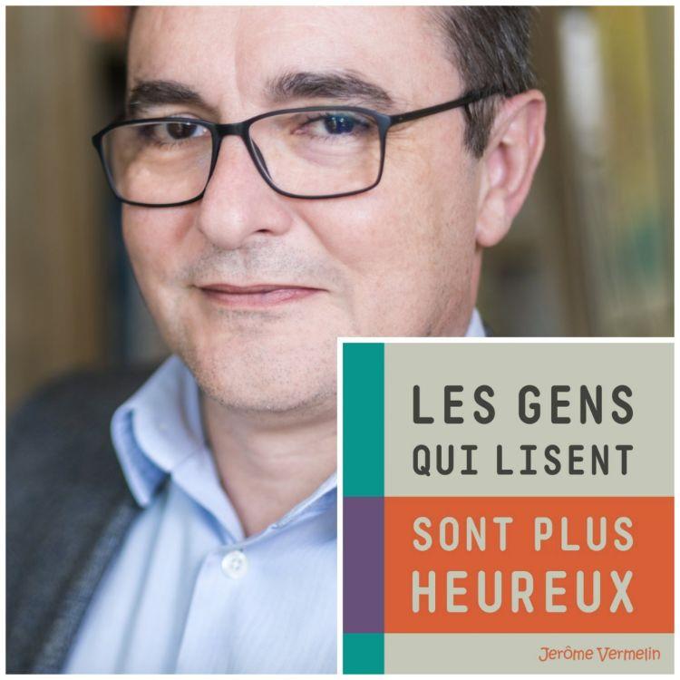 """cover art for #42 - Vincent Monadé : """"C'est maintenant que les librairies vont avoir besoin d'aide !"""""""