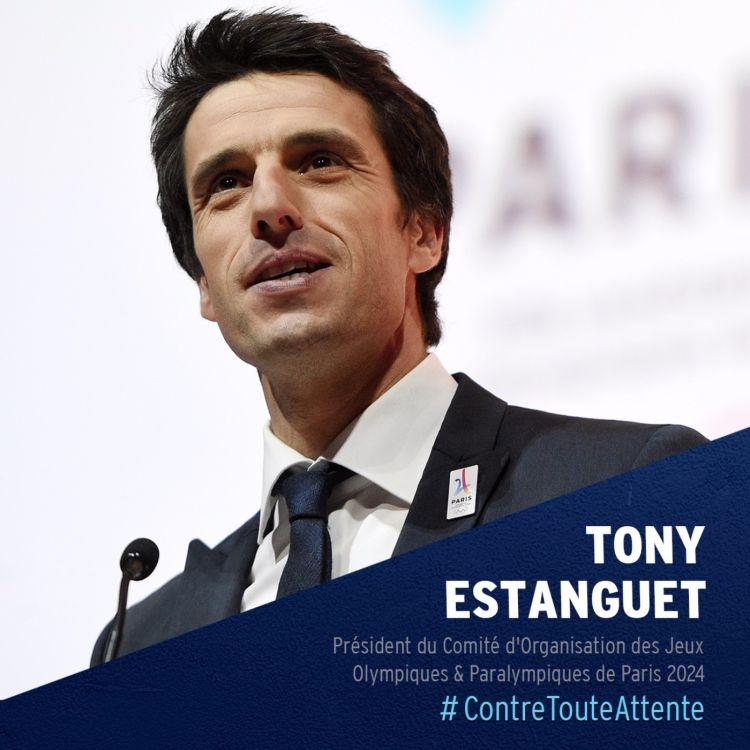 cover art for Tony Estanguet, Président du Comité d'Organisation des Jeux Olympiques & Paralympiques de Paris 2024