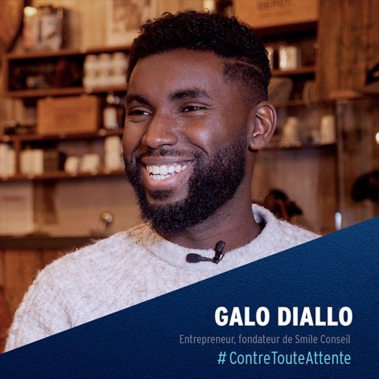 cover art for Galo Diallo, Entrepreneur et fondateur de Smile Conseil