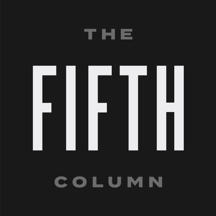 "cover art for 012 ""Terrorism, Gun Control and Magical Thinking"" - The Fifth Column"
