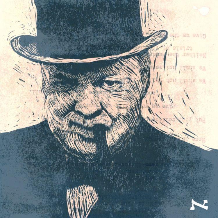 cover art for ווינסטון צ'רצ'יל עולה לשידור