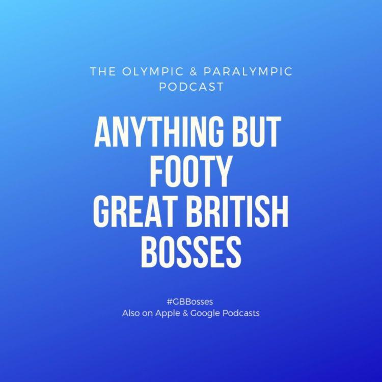 cover art for #18 Great British Bosses: Jane Nickerson, Swim England