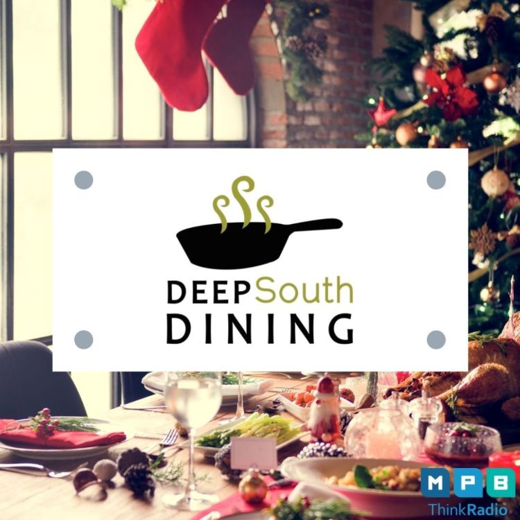 cover art for Deep South Dining: Christmas & Carla Hall